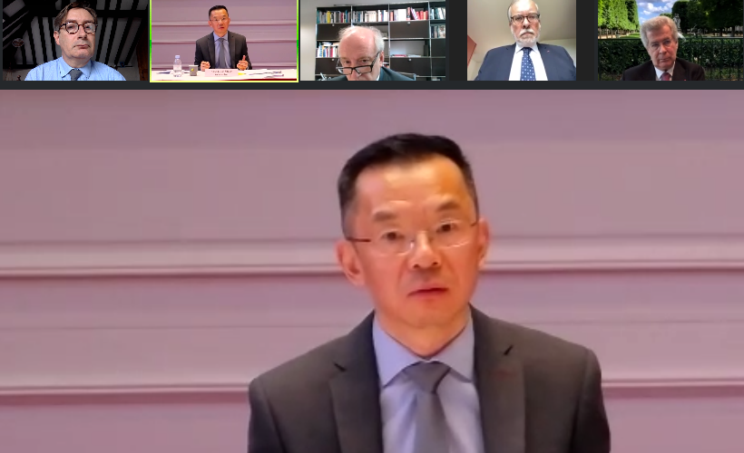 Exchanges and proposals on industry with the Chinese Embassy in Paris