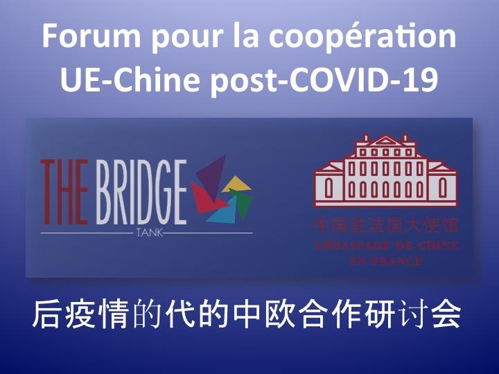 Forum pour la coopération UE-Chine post-Covid-19 – 后疫情时代的中欧合作研讨会