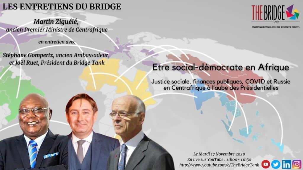 Les Entretiens du Bridge – être social-démocrate en Afrique
