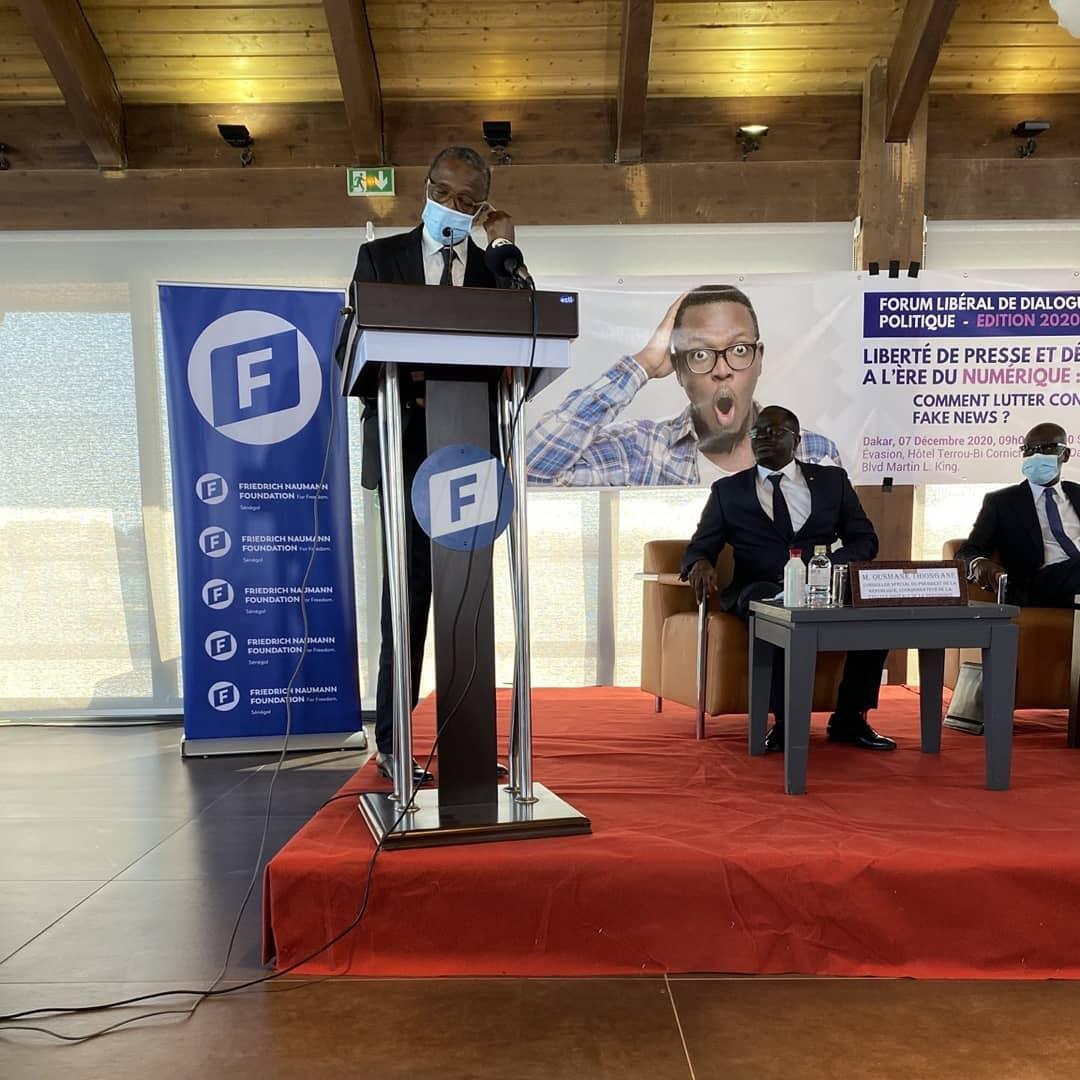 Forum libéral de dialogue politique : liberté de la presse et  lutte contre les fake news à l'ère du numérique.