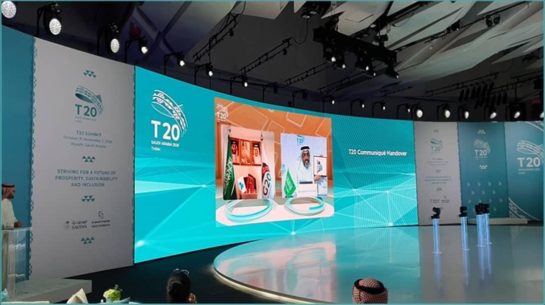 Participation du Bridge Tank au Sommet du T20 en amont du G20