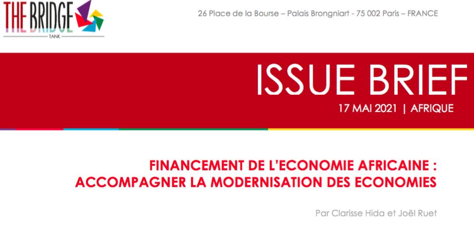 Financement de l'économie africaine : Accompagner la Modernisation des Economies