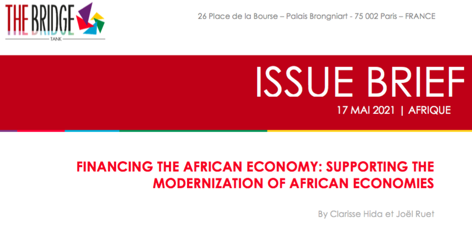 Financing the African economy: Supporting the Modernization of African Economies