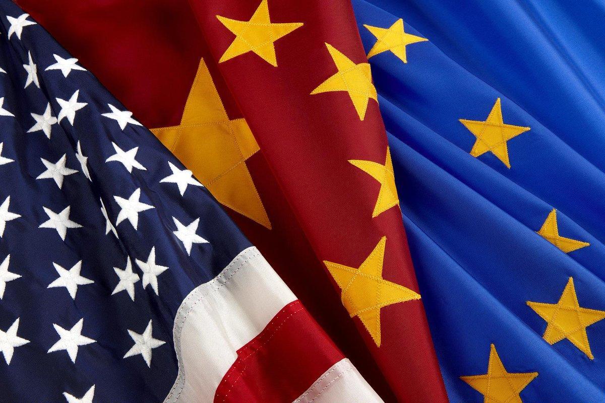 """""""La Chine, nouvelle Atlantide entre les Etats-Unis et l'Europe?"""" Décryptage des jeux de puissance par Joël Ruet dans La Tribune"""